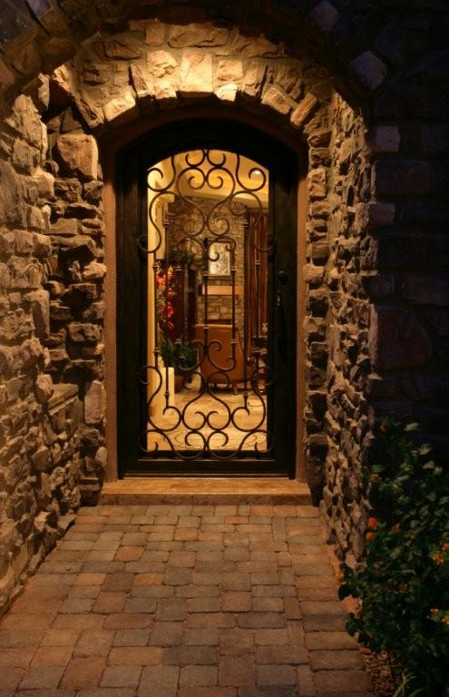 Hi basement cellar on pinterest 58 pins for Tuscan decorations for home