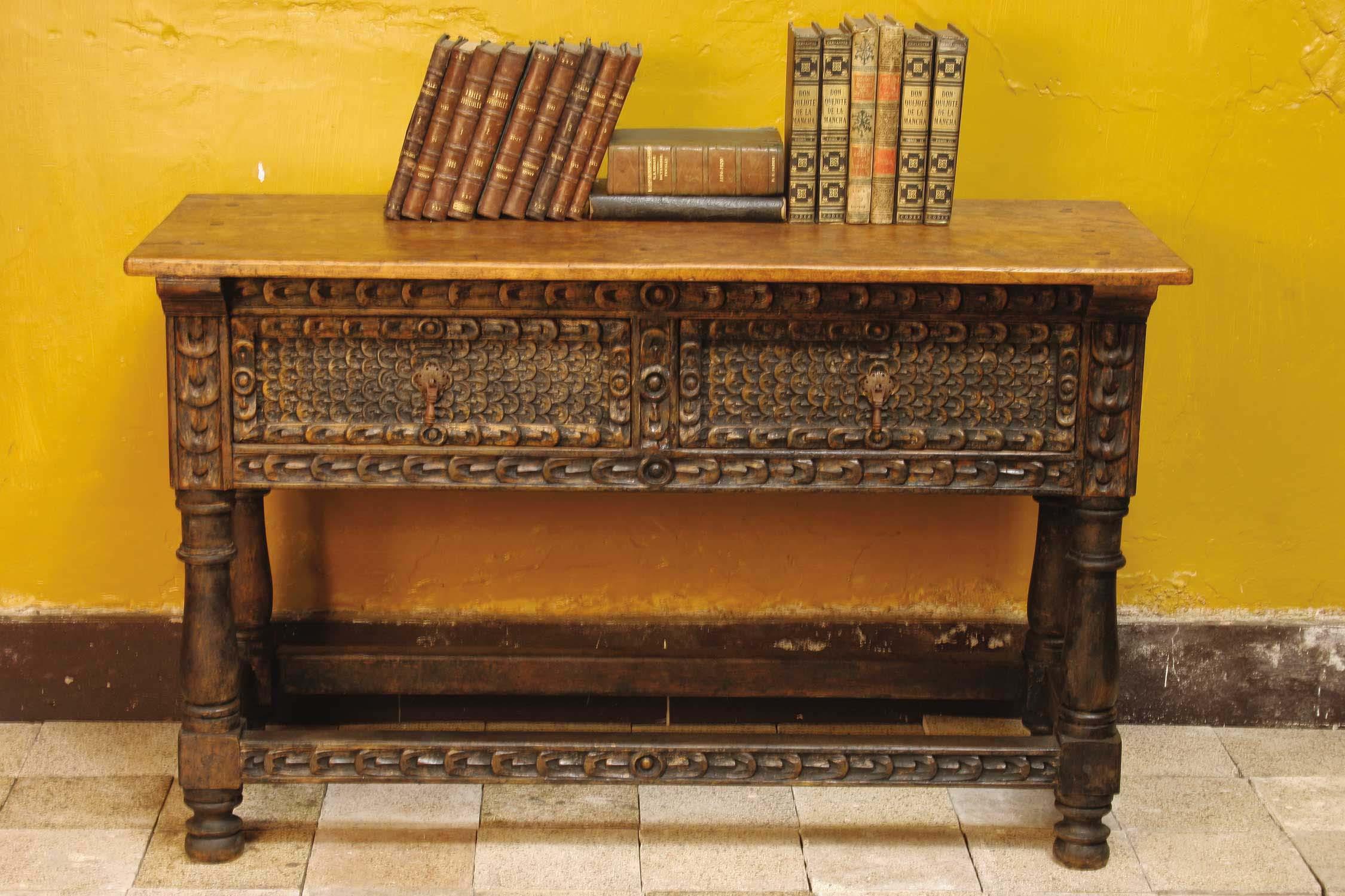 Mediterranean Table Console