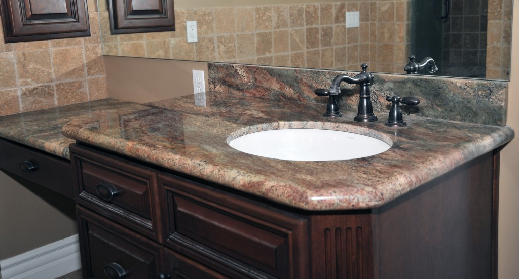 Bathroom Granite Countertops : bathroom remodel with granite countertops stone kitchen countertops