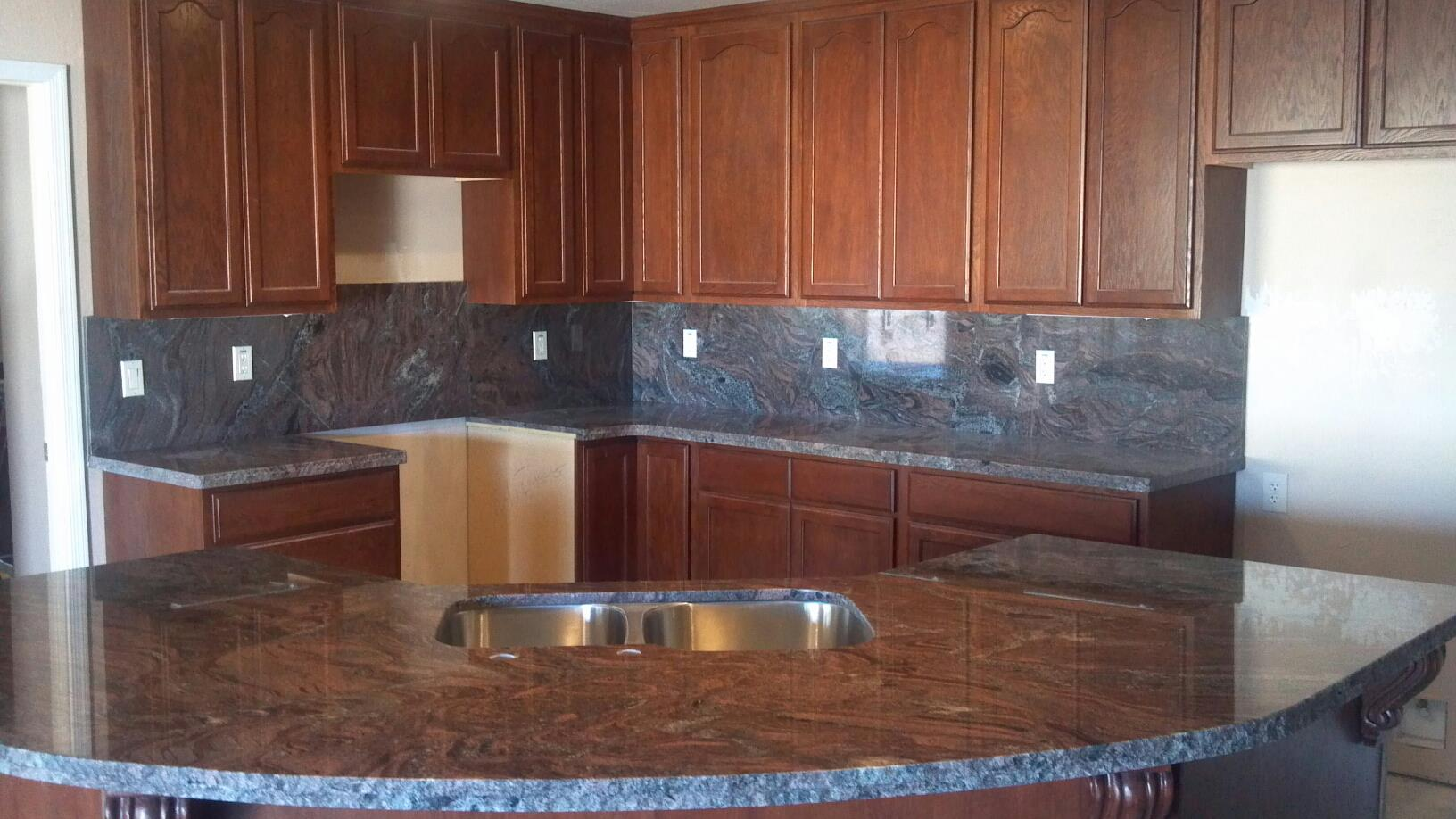 Desert stone concepts home decorating resources home for Kitchen cupboards and countertops